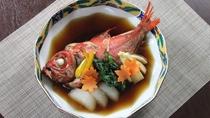 金目鯛の煮付けプラン(1泊2食)
