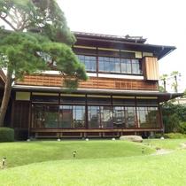 熱海市指定有形文化財でもある大正~昭和期の洋館「起雲閣」(当館から車で約4分)