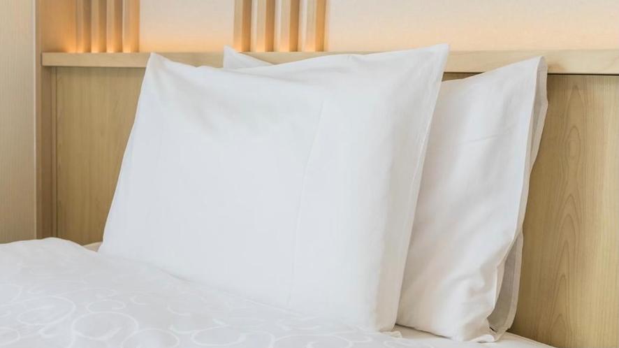 ファイテンハリウッドツイン 枕も快眠にこだわり!