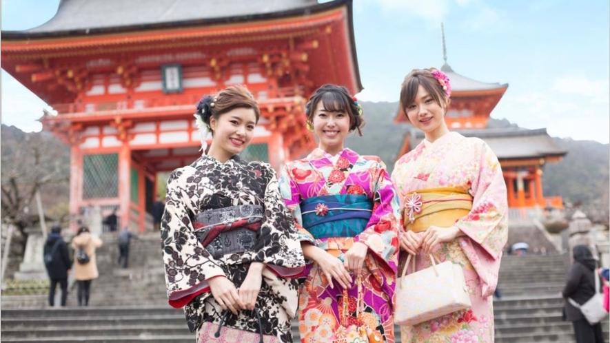 浴衣・着物で京都散策プラン