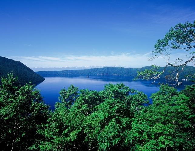 コテージ近傍の景勝地 裏摩周湖展望台
