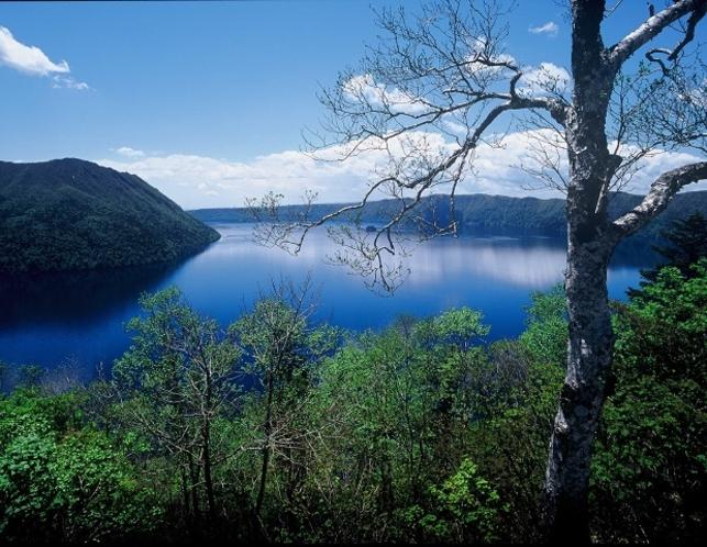 裏摩周湖展望台