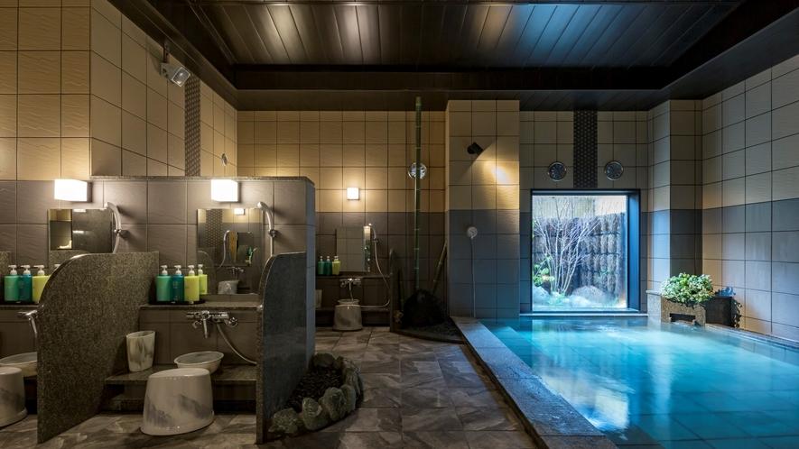 女性人工温泉大浴場◆15:00~2:00、5:00~10:00までご入浴頂けます◆