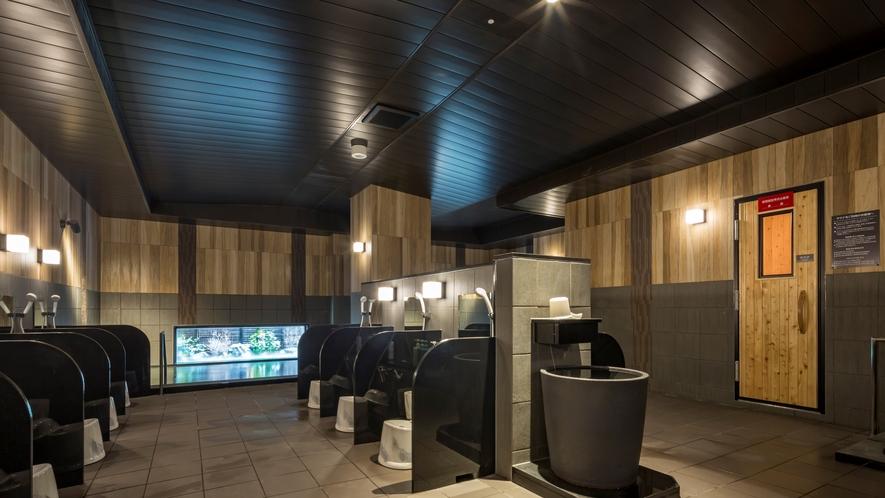 男性人工温泉大浴場◆15:00~2:00、5:00~10:00までご入浴頂けます◆