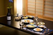 京のおばんさいを買って夕食(イメージ)