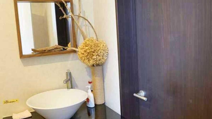 ・【共用】清潔・快適にご利用いただける洗面台
