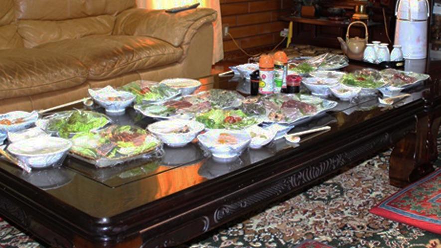 食事処/御飯をご用意するリビングです。みんなで食卓を囲みます♪