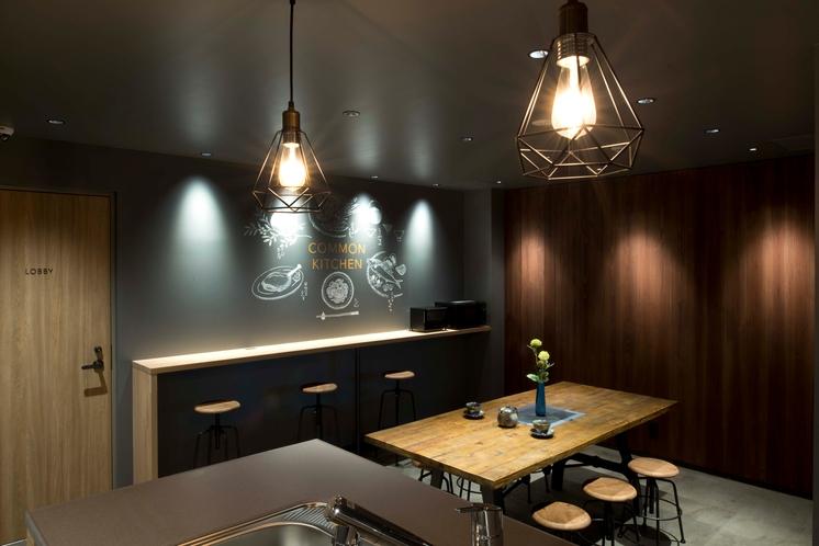 【シェアキッチン】デザイン事務所設計の落ち着きのある空間