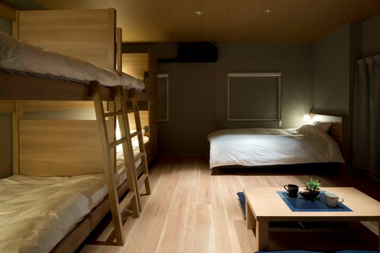 【みんなでワイワイ★】シングルベッドがあるので、ビジネス・出張やテレワークで広く使いたい方にも★