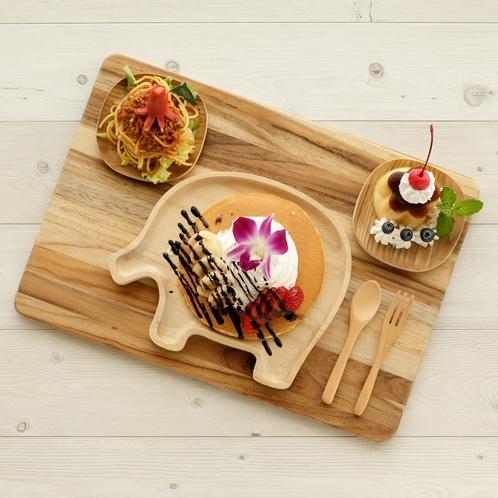 【朝食<Breakfast>】 キッズプレート*Kids Plate*