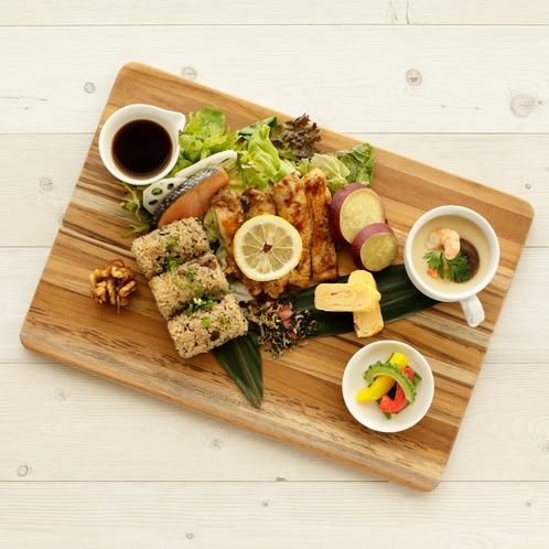 【朝食<Breakfast>】 ジューシープレート*Jyu shi Plate*
