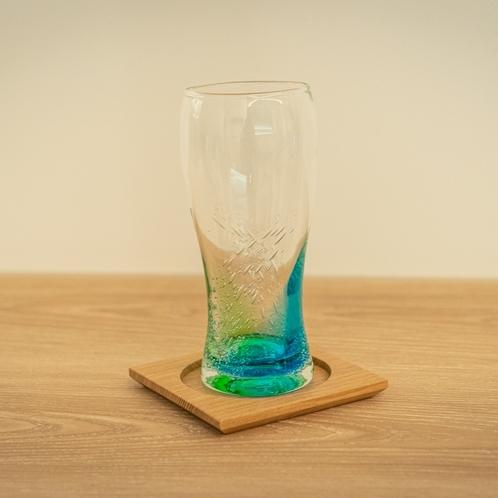【客室備品】◆琉球ビールグラス◆