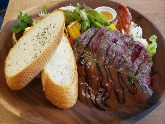 【Dinner】ステーキディナー ※イメージ