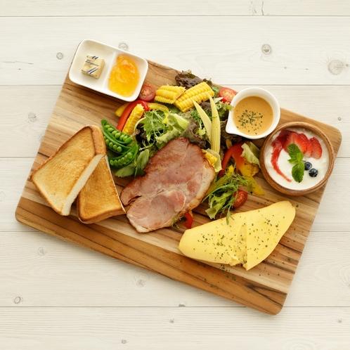 【朝食<Breakfast>】 オムレツプレート*Omelette Plate*