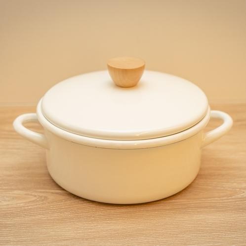 【客室備品】◆ホーロー鍋◆