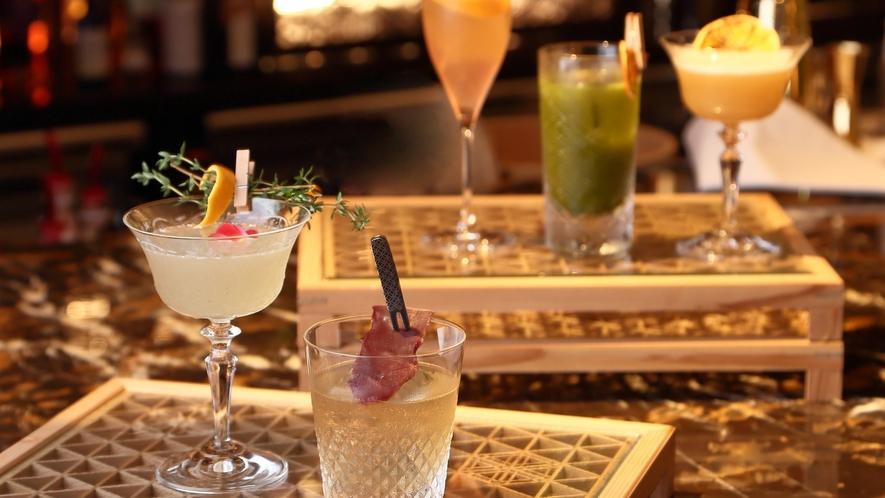 【Bar カクテル】常時15種類以上のオリジナルカクテルをご用意