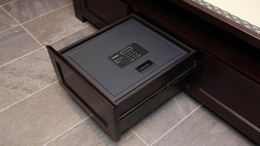 全客室にセーフティボックスをご用意しております。