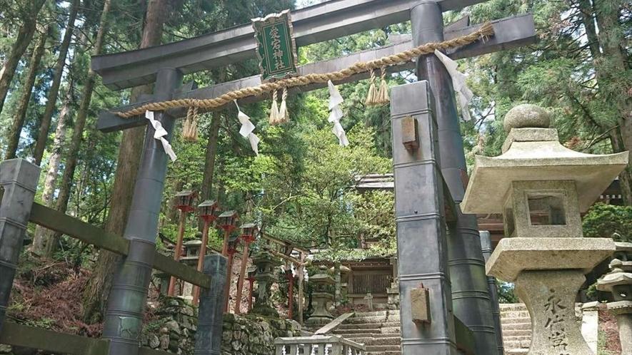 愛宕山の山頂にある愛宕神社。本能寺の変の直前、明智光秀も参詣したそうです。