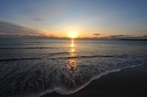 国府白浜の朝日