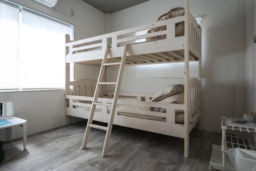 ゲストハウス お宿ゴリラ 2段ベッド+布団 #5