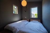 皐月の間:寝室(洋室)