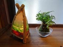 手作りのランプシェード