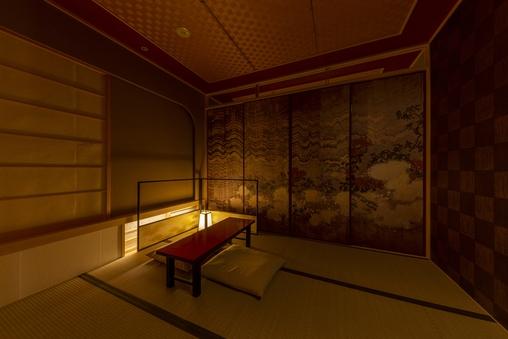 茶室スイート襖 -Fusuma-