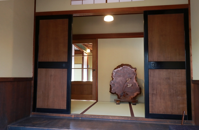 玄関入り口