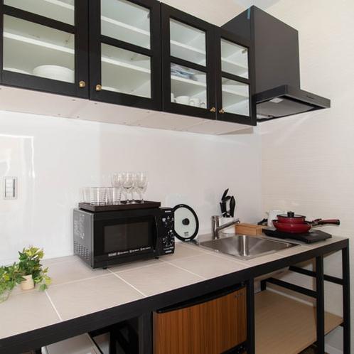 キッチンも大きく使えます。