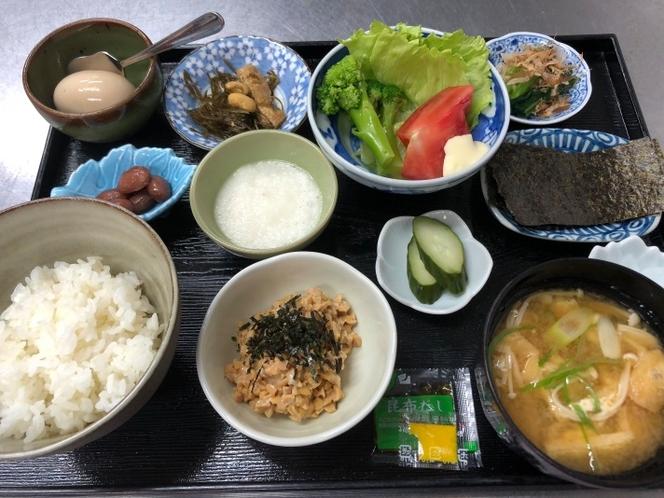 納豆和朝食(例)