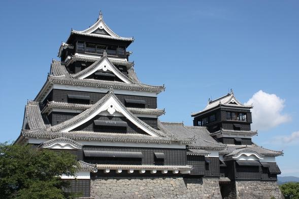 【Trusty Premier】熊本城View アメニティセット付き ポイント5%《素泊まり》