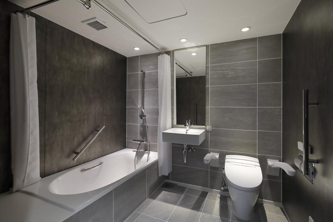 420号室ハンディキャップルームバスルーム