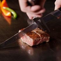 鉄板焼ステーキ