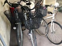 自転車(無料でご利用いただけます)