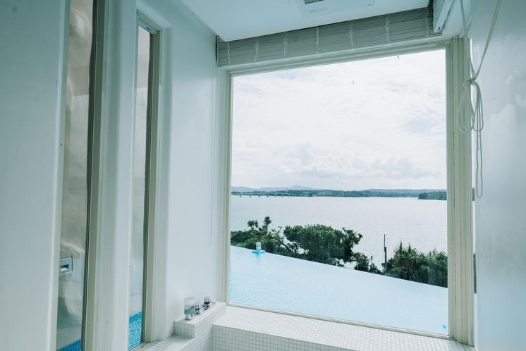 バスルームからの景色