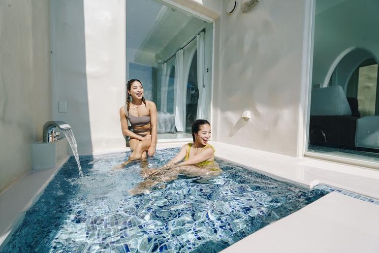 Room C 露天風呂