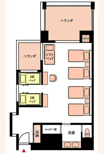 スタンダードB_部屋マップ