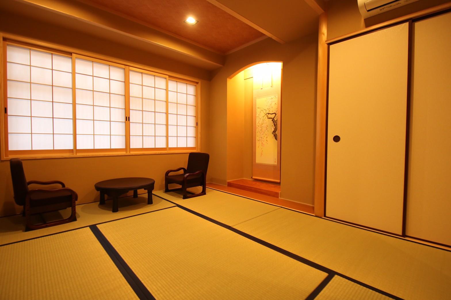 2階部屋の和室