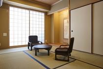 345階部屋の和室
