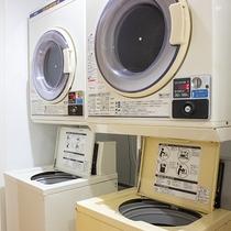 *【貸切風呂の有料コインランドリー】洗濯1回300円、乾燥30分1回100円。洗剤は各自ご持参下さい