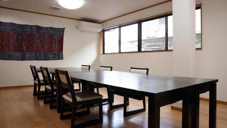 *【館内/食事処】足が悪い方にも好評なイステーブルの個室