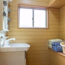 *【貸切風呂一例】各脱衣所にはバスタオル及びタオルを完備