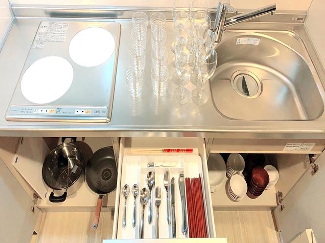 豊富なキッチン用品♪