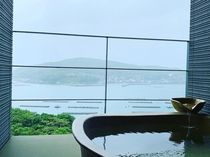 白藍(Shiraai)  露天風呂からの眺望