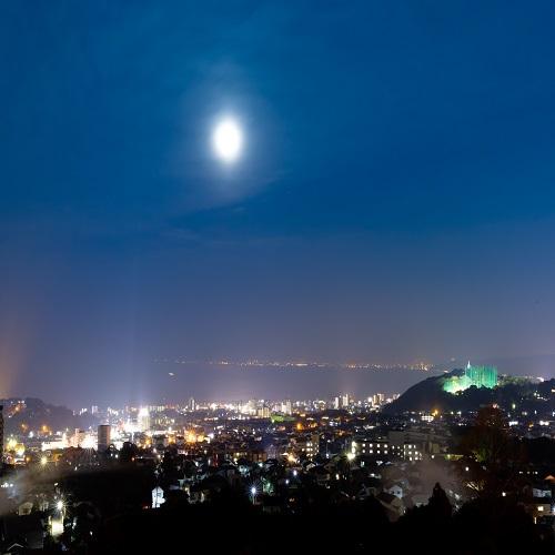 燈月からの景色