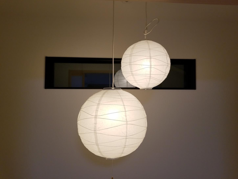 吹抜け天井吊り下げライト