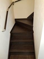 ゆるやかな階段①