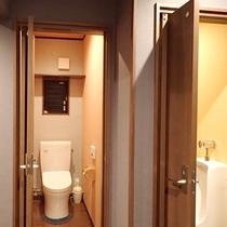 【施設】共用トイレも洋式×2と男性用もございます。