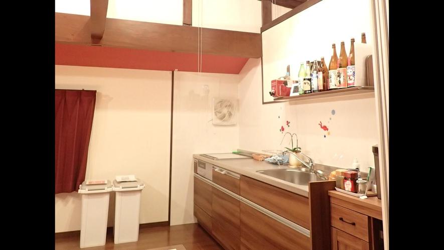 *【施設】共用キッチン。お好きに食材を持ち込んで調理してもOK