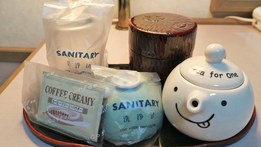*【客室一例/お茶セット】お部屋でホッと和むひとときを・・・